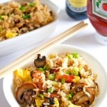 Authentic Japanese-American Breakfast Fried Rice