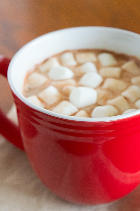 Emergency 3-Ingredient Hot Chocolate