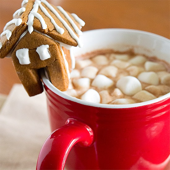 A quick, easy, and delicious 3-ingredient hot chocolate recipe for those times when nothing else will do.