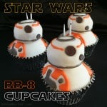 Star Wars BB-8 Cupcakes