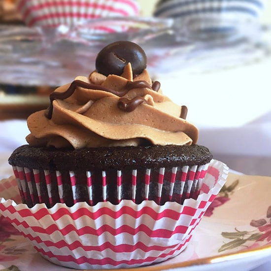 Cafe mocha cupcakes