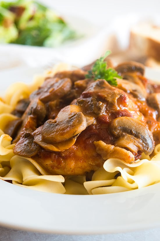 Weeknight Easy Chicken Cacciatore