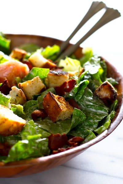Light and Healthy BLT Salad