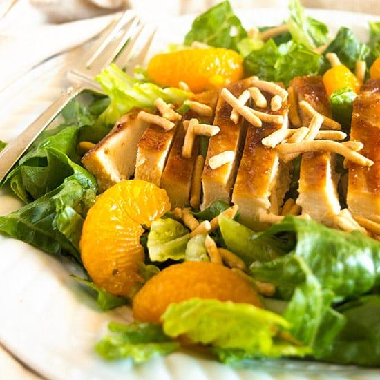 Simply Delicious Asian Chicken Salad