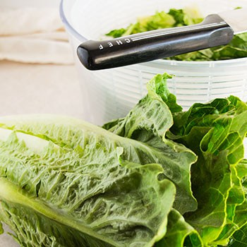 The Fastest, Easiest Way to Cut Romaine for Salads