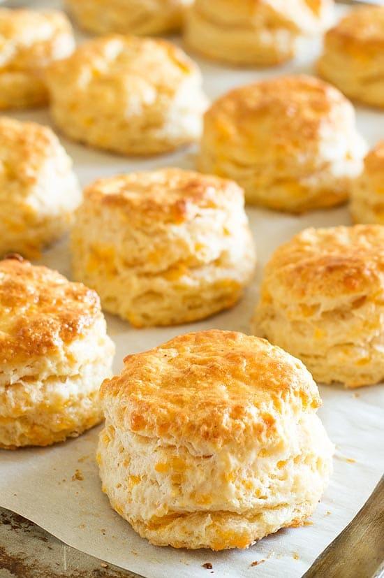 Cheddar Cheese Scones Recipe — Dishmaps