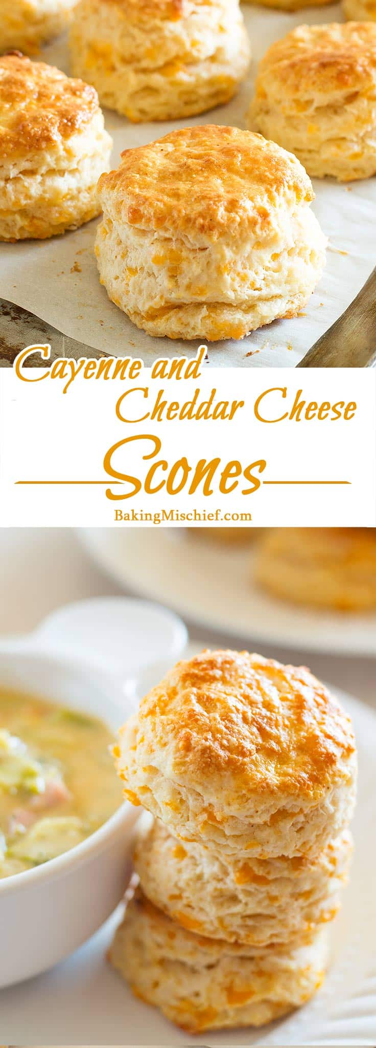 and Cheddar Cheese Scones - Warm, buttery cheddar cheese scones ...
