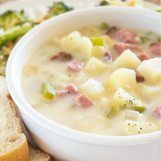 Comforting Potato Soup Recipes: Easy And Comforting Ham And Potato Soup