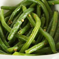 No Fail Butter and Garlic Green Beans