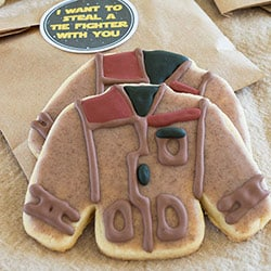 Poe's Jacket Cookies With Printable Stickers