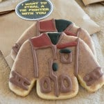 Poe's Jacket Star Wars Cookies with Printable Stickers