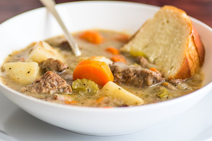 The best easy Simple Beef Stew recipe and some of my favorite stew tips!. | #EasyDinner | #SundayDinner |