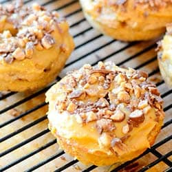 Feed Your Soul Too's Banana Heath Bar Donut