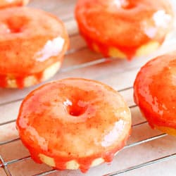 Ilona's Passion's Strawberry Shortcake Baked Mini Buttermilk Donuts