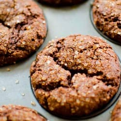 Living Lou's Whole Wheat Gingerbread Muffins