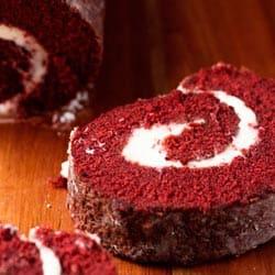 Marsha's Baking Addiction's Red Velvet Roulade