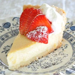Pepper Ever After's Buttermilk Pie