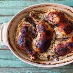 Sidewalk Shoes' Oven Braised Buttermilk Chicken With Za'atar