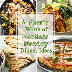 48 More Meatless Monday Meal Ideas
