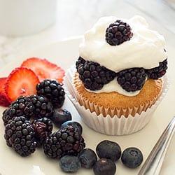 Pound Cake Cupcakes AKA Cupcakes for Breakfast