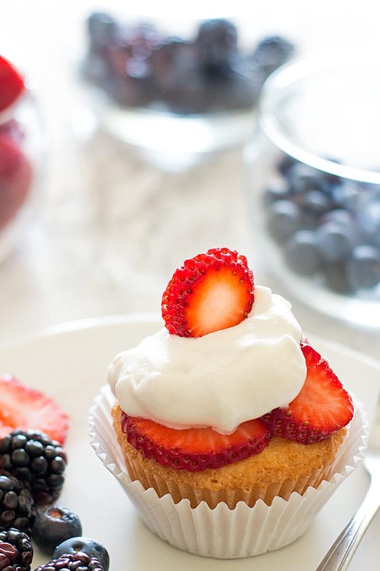 You have to try these Pound Cake Cupcakes! What could be better than cupcakes for breakfast?