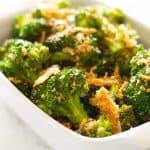 Quick Panko and Parmesan Broccoli