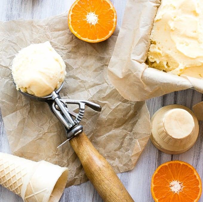 Vanilla And Bean's Orange Sherbet from BakingMischief.com's round up ...