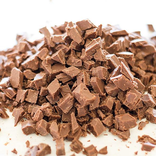 Homemade Nutella Chips for Baking