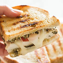 Pesto Chicken Sandwich on Sourdough