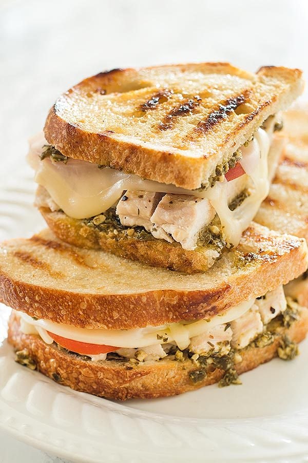 This Pesto Chicken Sandwich on Sourdough might be my very favorite sandwich in all the world!