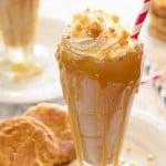 Salted Caramel Snickerdoodle Milkshake
