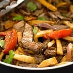 Lomo Saltado With Oven-baked Fries