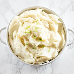 No-recipe Homemade Mashed Potatoes