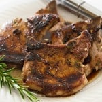 Quick Rosemary Pork Chops