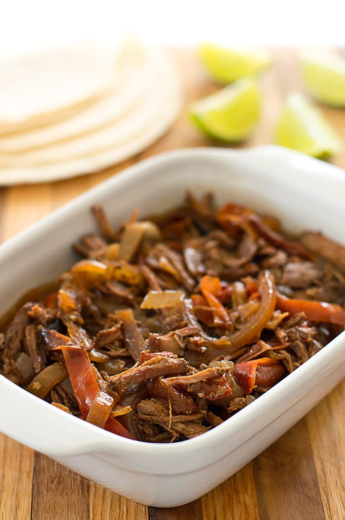 Slow Cooker Beef Fajitas Recipe