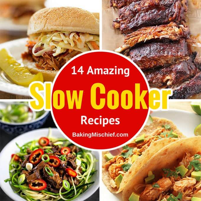 14 Amazing Slow Cooker Recipes