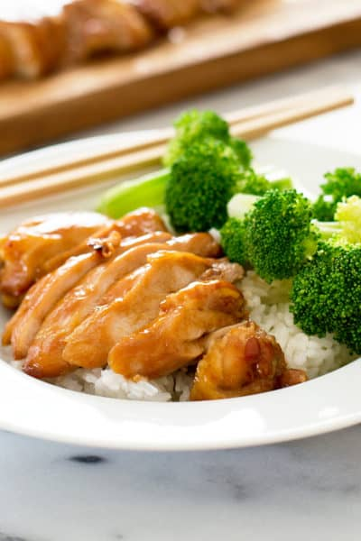 Easy Teriyaki Chicken for Two