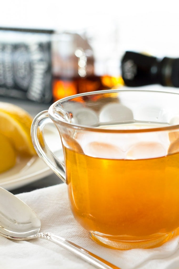 When you're sick, try a Chai Hot Toddy to ease some of your cold symptoms. From BakingMischief.com