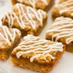 Small-batch Shortbread Pumpkin Pie Bars