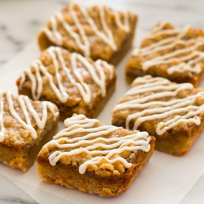 Small-batch Shortbread Pumpkin Pie Bars