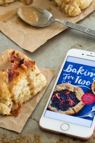 Tammy's Bacon Scones with Maple Glaze