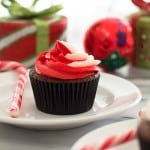 Small-batch Chocolate Cupcakes With Peppermint Buttercream + Baking for Two Giveaway