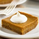 Mini Skinny Pumpkin Pie With Graham Cracker Crust