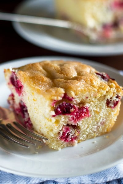 Mini Cranberry Breakfast Cake