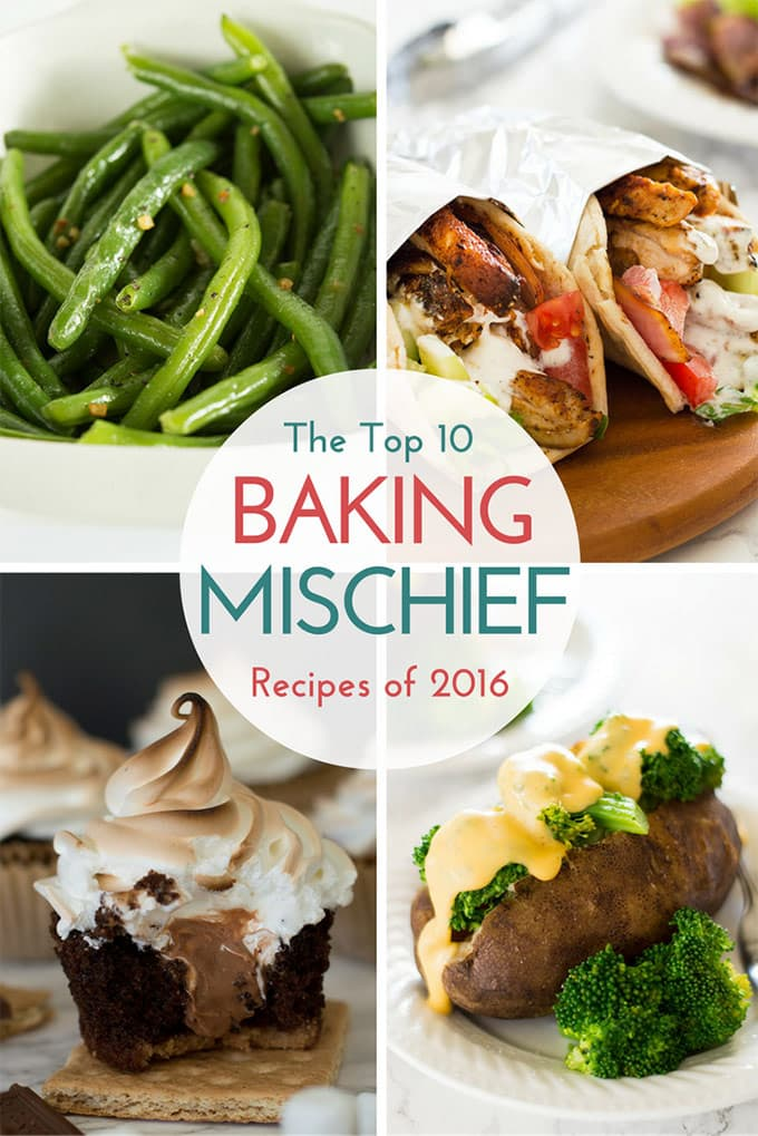 The top 10 most popular posts on BakingMischief.com in 2016.