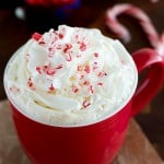 Candy Cane White Chocolate Peppermint Mocha
