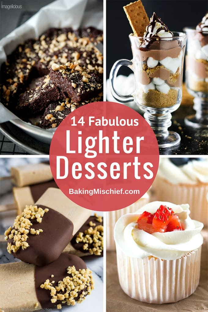 14 lighter desserts for when you're eating healthy!