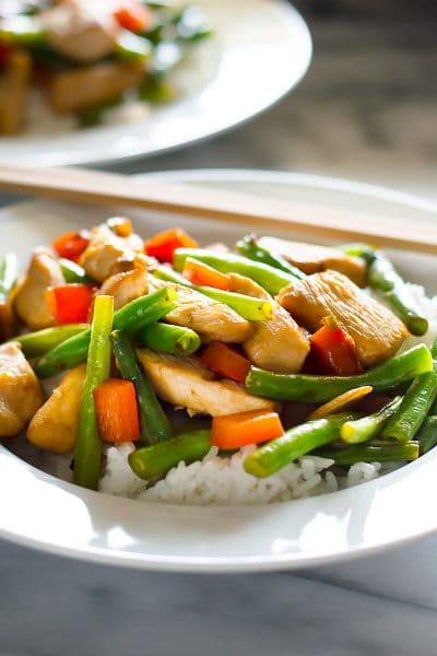 Panda Express-Inspired String Bean Chicken