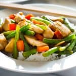 This healthy Panda Express Chicken recipe is an easy dinner: light, simple, and delicious. From BakingMischief.com