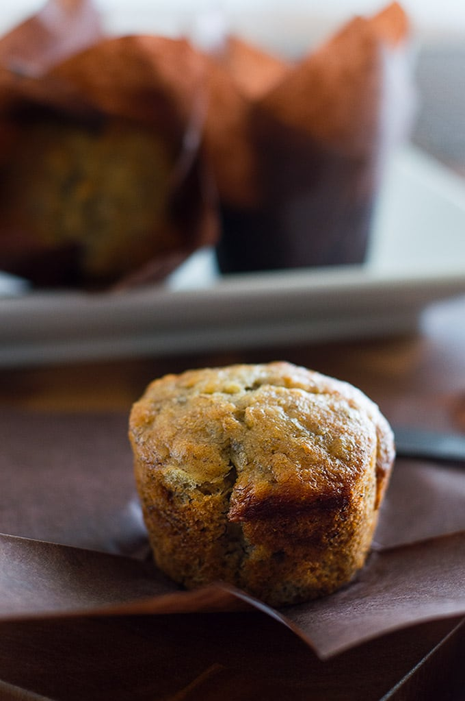 One banana one bowl small batch banana muffins baking mischief easy moist small batch banana muffins can be made with one banana one forumfinder Gallery